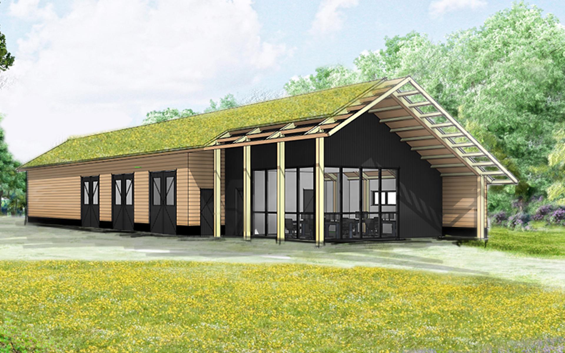 kapschuur-eigentijds-gelamineerde-constructie-massief-hout-sedum-dak-architect-van-oord-architectuur-en-design-wenum-wiesel-architectuur-boekelo-outdoor-care1