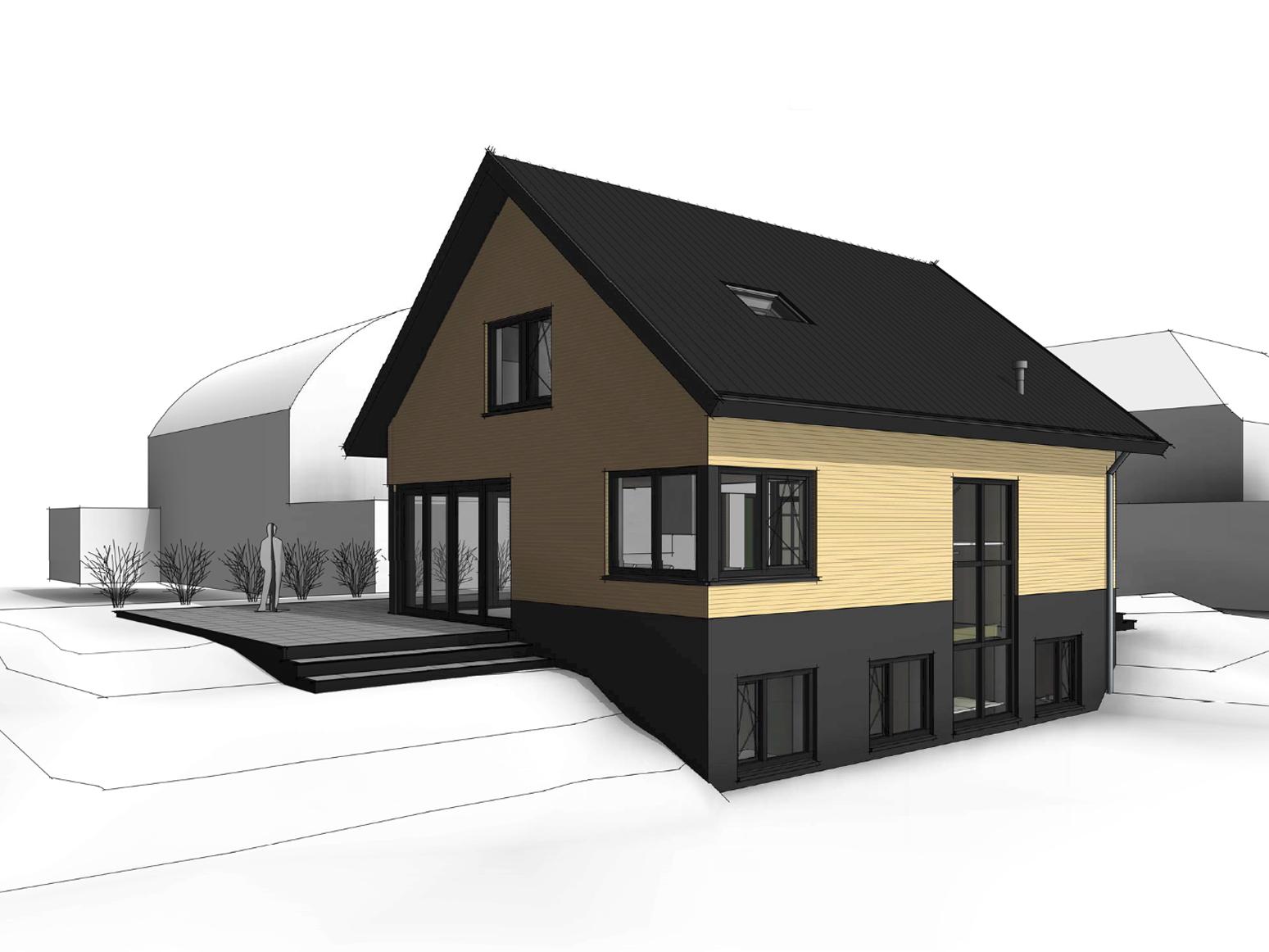 schuurwoning-vrijstaande-woning-eigentijds-vlakke-pan-donker-metselwerk-te-twello-van-oord-architectuur-en-design-architect-voorst-architect-apeldoorn-2