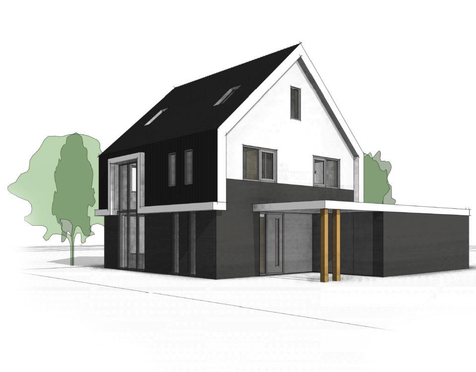 vrijstaande-woning-eigentijds-vlakke-pan-donker-metselwerk-te-twello-van-oord-architectuur-en-design-architect-voorst-architect-apeldoorn-2