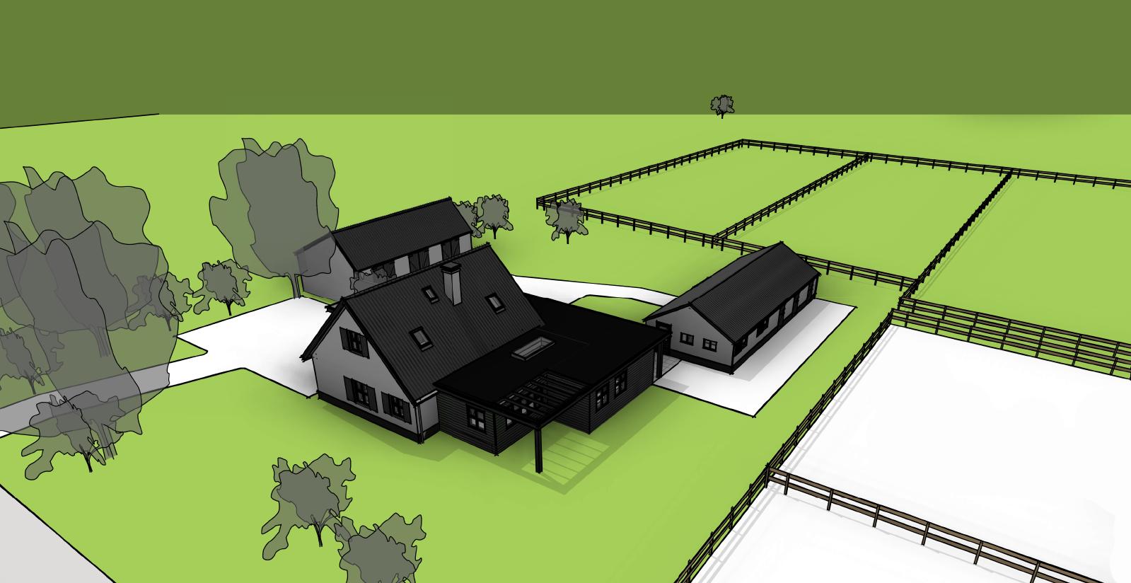 Verbouwing landelijke villa Wilp Gelderland-01