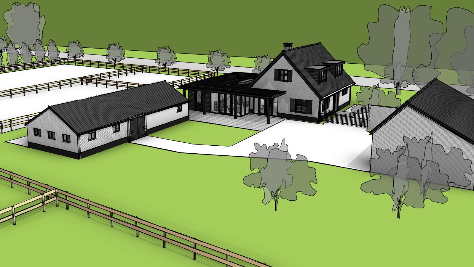 Verbouwing landelijke villa Wilp Gelderland-02
