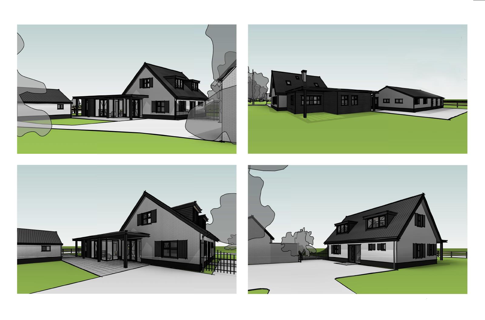 Verbouwing landelijke villa Wilp Gelderland-03